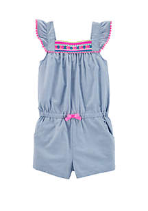 3f66ab1b80e99 ... Little Character Set · Carter's® Toddler Girls Neon Embroidered Romper