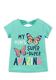Toddler Girls Amazing Butterfly Tee