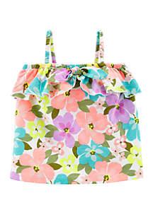 Carter's® Toddler Girls Tropical Floral Tank