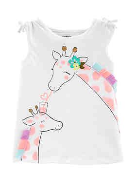 fc4b57678220 Carter s® Toddler Girls Giraffe Tulip Back Slub ...