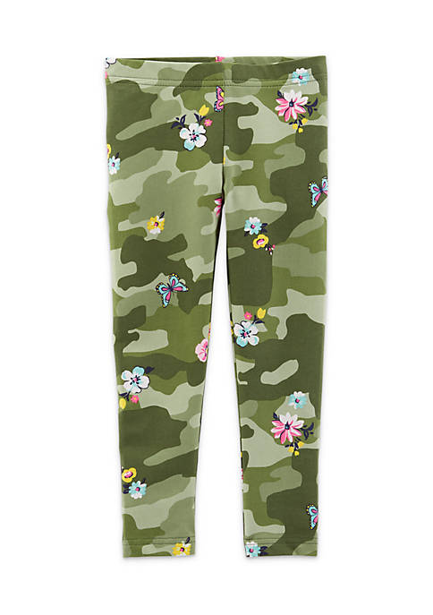 Carter's® Toddler Girls Camo Print Leggings