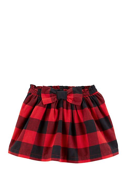 e6e433b8238 Carter s® Toddler Girls Buffalo Check Flannel Skirt