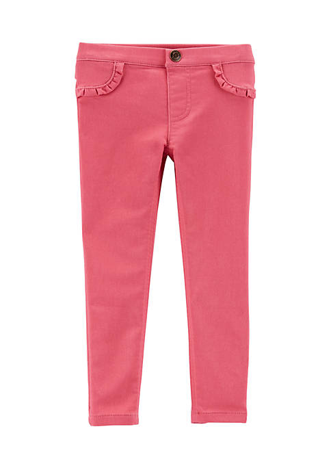 Carter's® Girls 2-6 Coral Knit Pants