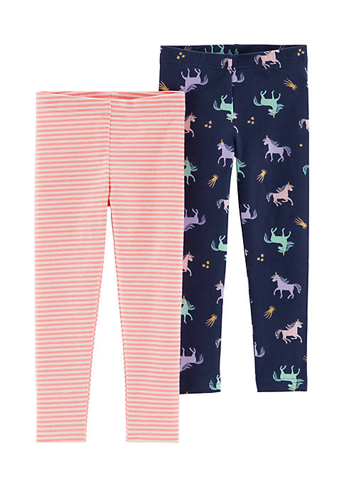Carter's® Toddler Girls 2-Pack Legging Set