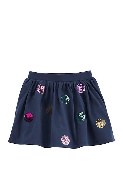 Carter's® Toddler Girls Sequin Polka Dot Skort