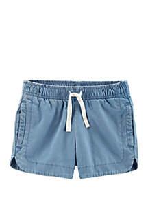 Carter's® Toddler Girls Pull On Denim Shorts