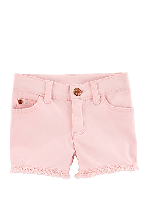 Carter's® Toddler Girls 5-Pocket Denim Shorts