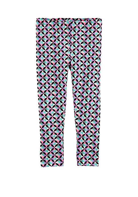 Toddler Girls Geo Print Leggings
