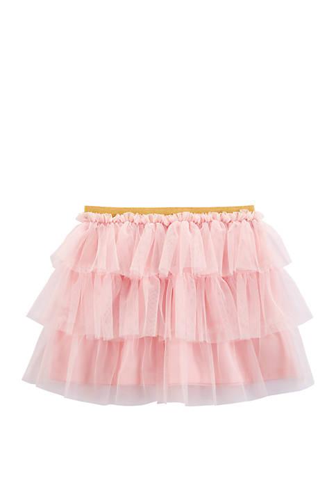Carter's® Toddler Girls Ruffle Tulle Skirt
