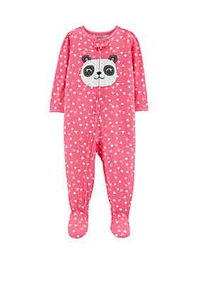 da4fb1bf6cf2 Carter's® Toddler Girls One Piece Panda Footed Pajamas ...