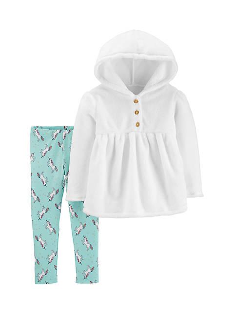 Carter's® Toddler Girls 2 Piece Unicorn Leggings Set