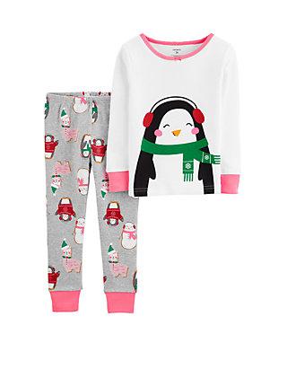 Carters Boys Pajamas Snug Fit Cotton Sea Theme Pjs