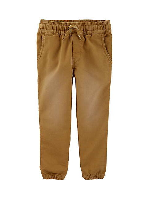 Carter's® Toddler Boys Pull On Knit Like Jogger