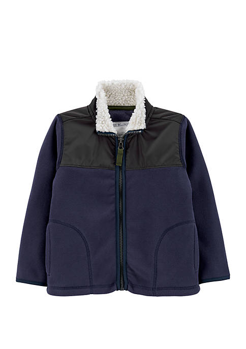 Carter's® Toddler Boys Full Zip Jacket