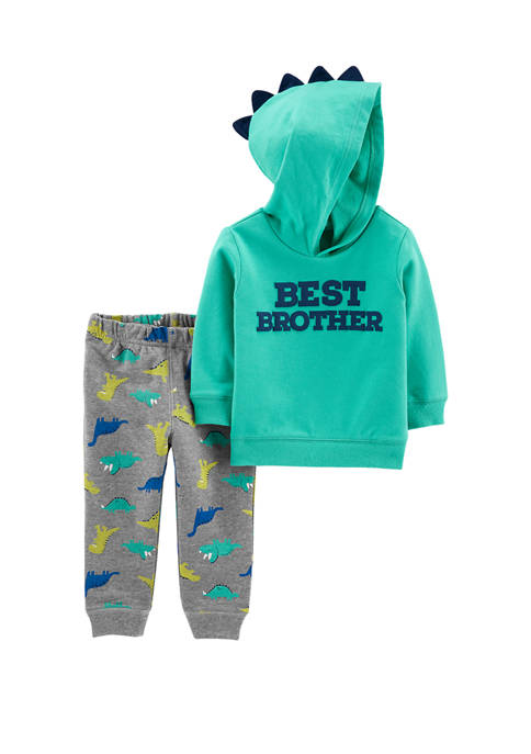 Carter's® Toddler Boys 2 Piece Best Brother Hoodie