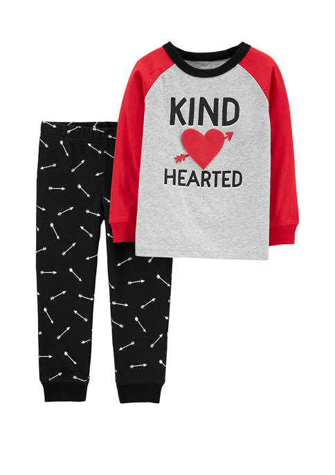Carter's® Toddler Boys 2 Piece Valentines Day Heart