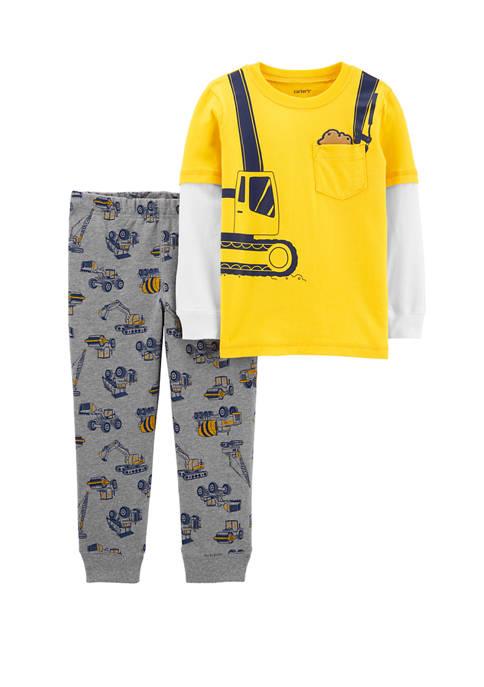 Carter's® Toddler Boys 2 Piece Construction Layered Look