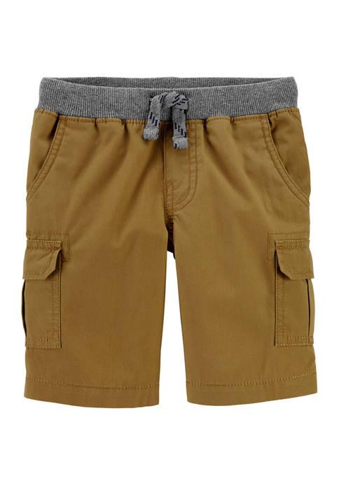 Carter's® Boys 4-7 Pull On Cargo Shorts