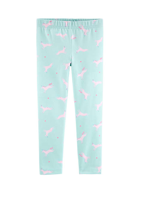 Toddler Girls Unicorn Leggings