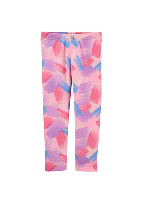 Carter's® Girls 4-6x Brush Stroke Leggings