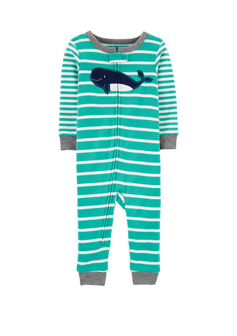 Carter's® Toddler Boys One Piece Whale Snug Fit