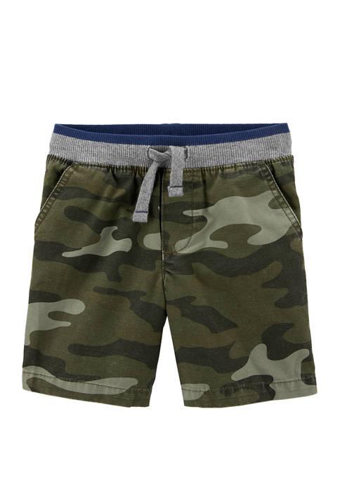 Carter's® Toddler Boys Camo Pull On Dock Shorts