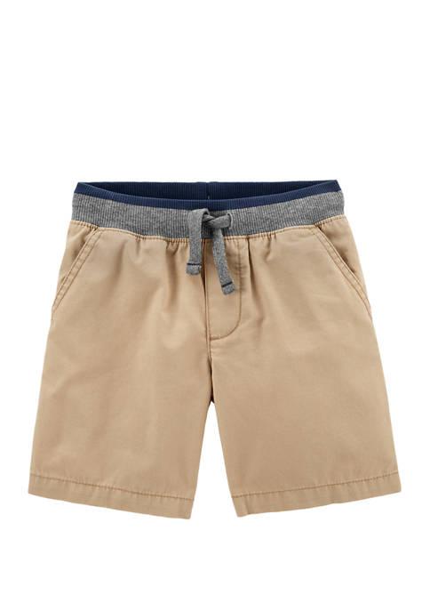 Toddler Boys Easy Pull On Dock Shorts
