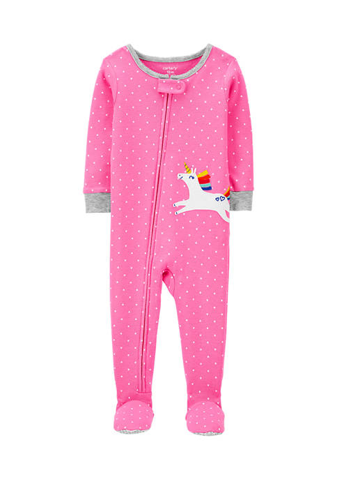 Carter's® Toddler Girls One-Piece Unicorn Snug Fit Cotton