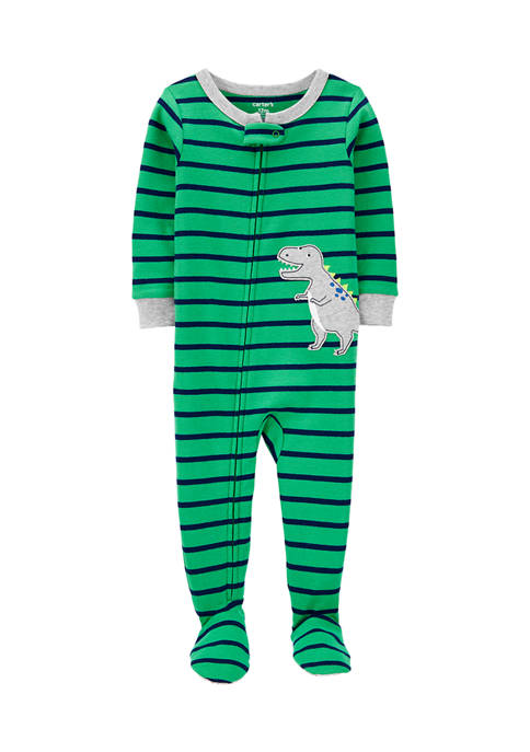 Carter's® Baby Boys One-Piece Dinosaur Snug Fit Cotton