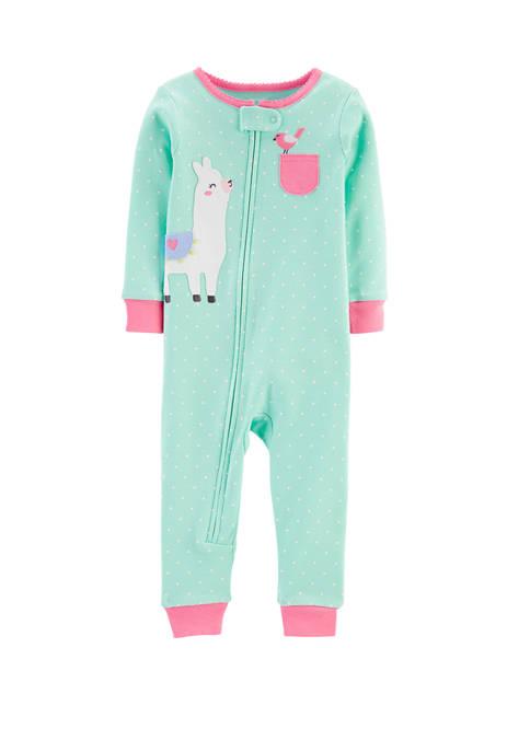 Carter's® Baby Girls Llama Bodysuit