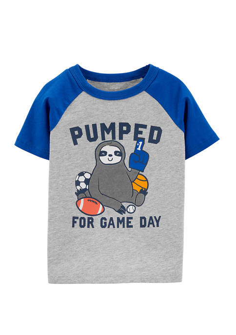 Carter's® Toddler Boys Sport Sloth Raglan Jersey T-Shirt