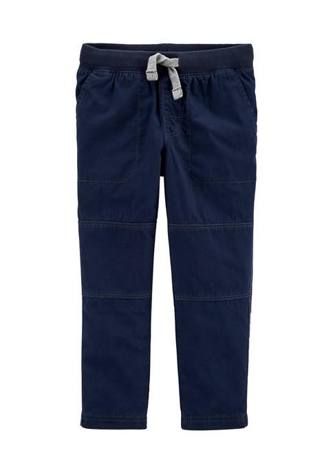 Toddler Boys Pull-On Reinforced Knee Pants