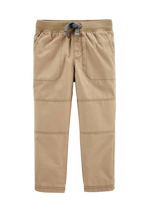 Carter's® Toddler Boys Pull-On Reinforced Knee Pants