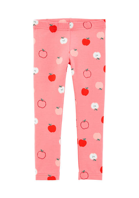 Carter's® Toddler Girls Poppy Apple Leggings