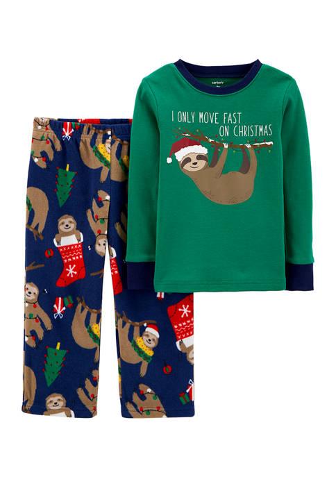 Carter's® Toddler Boys 2 Piece Printed Pajama Set