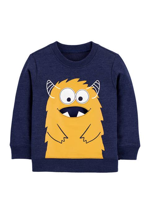Carter's® Toddler Boys Monster Pullover