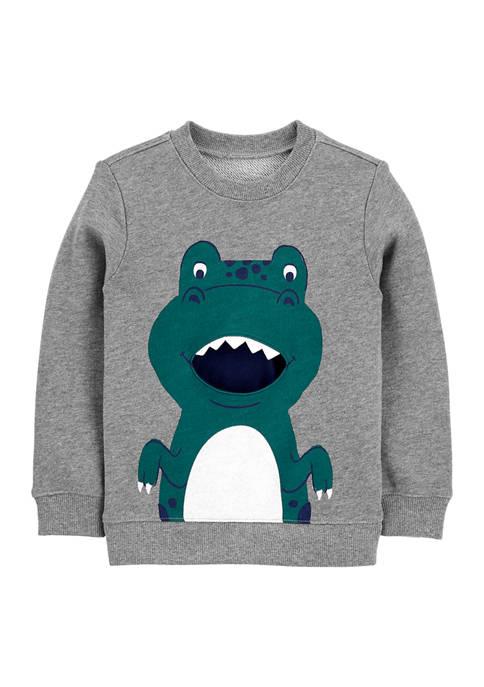 Carter's® Toddler Boys Dino Pullover