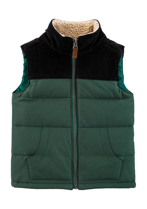 Carter's® Toddler Boys Zip-Up Puffer Vest