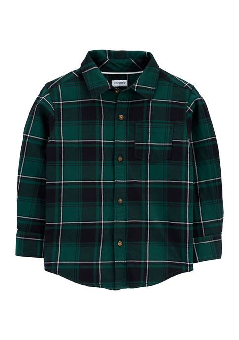 Carter's® Toddler Boys Collared Button Shirt
