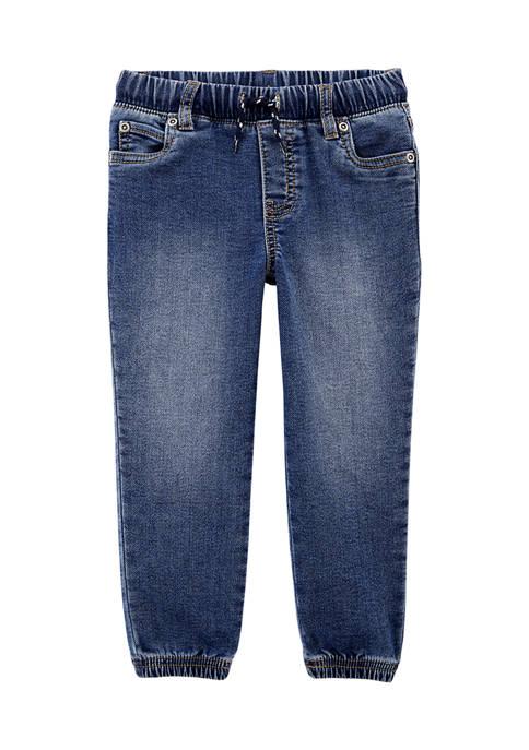 Carter's® Toddler Boys Pull-On Knit Denim Pants