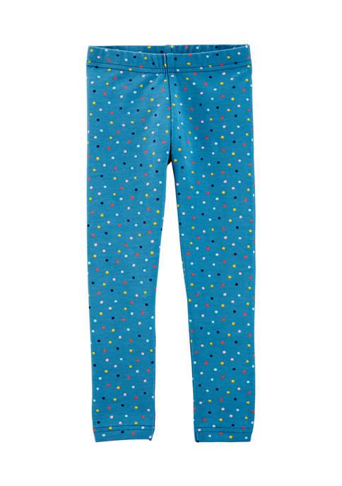 Toddler Girls Polka Dot Leggings