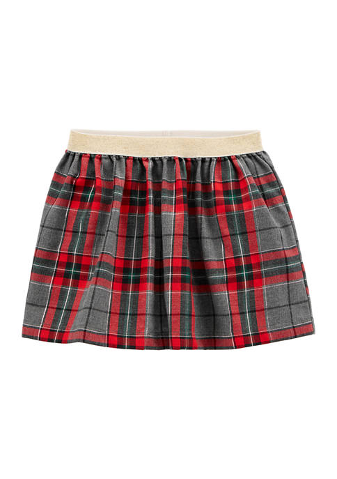 Carter's® Toddler Girls Plaid Skirt