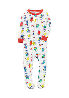 Carter's® 1-Piece Monsters Playing Sports Sleepwear Infant Boys