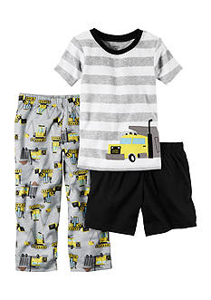 Carter's® 3-Piece Cotton and Jersey PJs