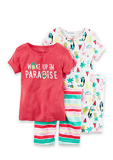Carter's® 4-Piece Snug Fit Cotton PJs