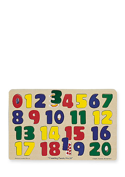 Numbers 0-20 Puzzle