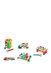 Melissa & Doug® 41-Piece Wooden Toy Bundle