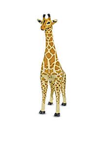 5' Tall Plush Giraffe