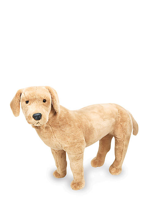 Plush Yellow Lab - Online Only