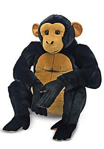 Melissa & Doug® Chimpanzee Plush Toy - Online Only